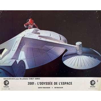 2001 A SPACE ODYSSEY Original Lobby Card N1 - 9x12 in. - 1968 - Stanley Kubrick, Keir Dullea