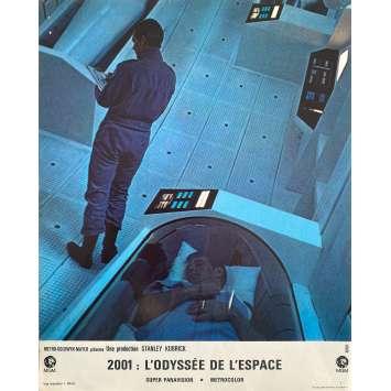 2001 A SPACE ODYSSEY Original Lobby Card N2 - 9x12 in. - 1968 - Stanley Kubrick, Keir Dullea