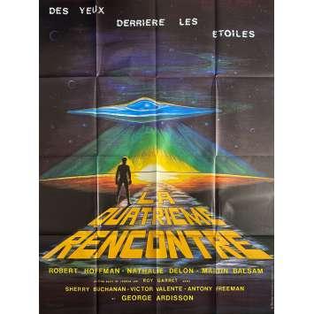 LA QUATRIEME RENCONTRE Affiche de film - 120x160 cm. - 1978 - Robert Hoffmann, Mario Gariazzo