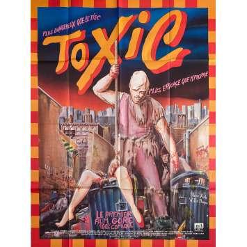 THE TOXIC AVENGER Original Movie Poster - 47x63 in. - 1984 - Lloyd Kaufman, Andree Maranda