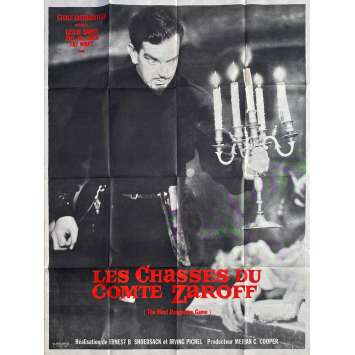 THE MOST DANGEROUS GAME Original Movie Poster - 47x63 in. - R1970 - Ernest B. Shoedsack, Fay Wray
