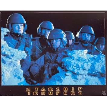 STARSHIP TROOPERS Original Lobby Card N2 - 9x12 in. - 1997 - Paul Verhoeven, Denise Richard