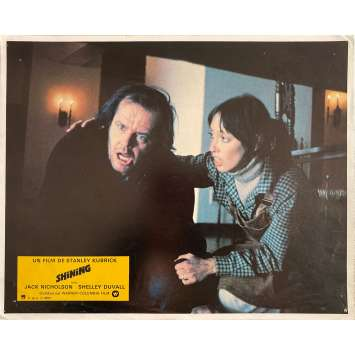 THE SHINING Original Lobby Card N4 - 9x12 in. - 1980 - Stanley Kubrick, Jack Nicholson