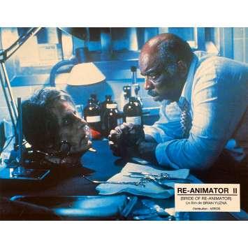 BRIDE OF RE-ANIMATOR Original Lobby Card N1 - 9x12 in. - 1990 - Brian Yuzna, Jeffrey Combs