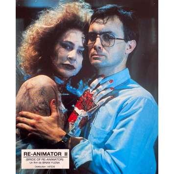BRIDE OF RE-ANIMATOR Original Lobby Card N2 - 9x12 in. - 1990 - Brian Yuzna, Jeffrey Combs