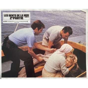 LES DENTS DE LA MER 2E PARTIE Photo de film N1 - 21x30 cm. - 1978 - Roy Sheider, Jeannot Szwarc