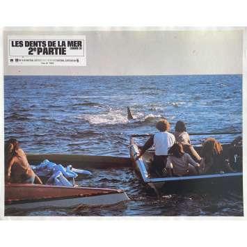 LES DENTS DE LA MER 2E PARTIE Photo de film N3 - 21x30 cm. - 1978 - Roy Sheider, Jeannot Szwarc