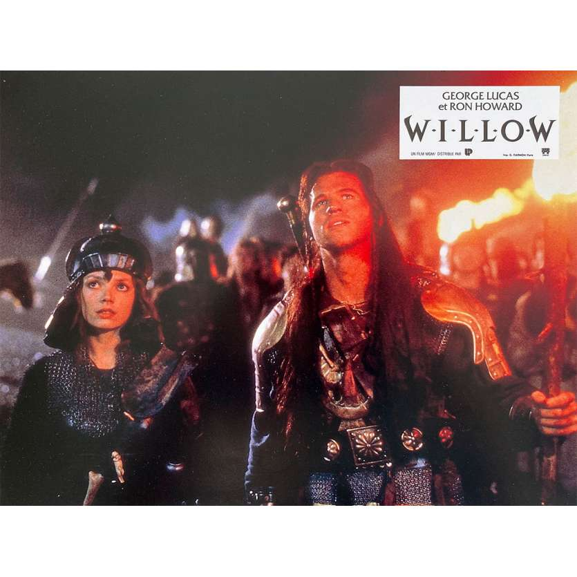 WILLOW Photo de film N1 - 21x30 cm. - 1988 - Val Kilmer, Ron Howard