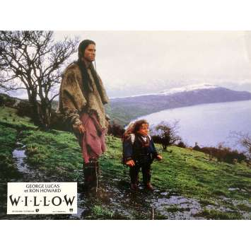 WILLOW Original Lobby Card N2 - 9x12 in. - 1988 - Ron Howard, Val Kilmer