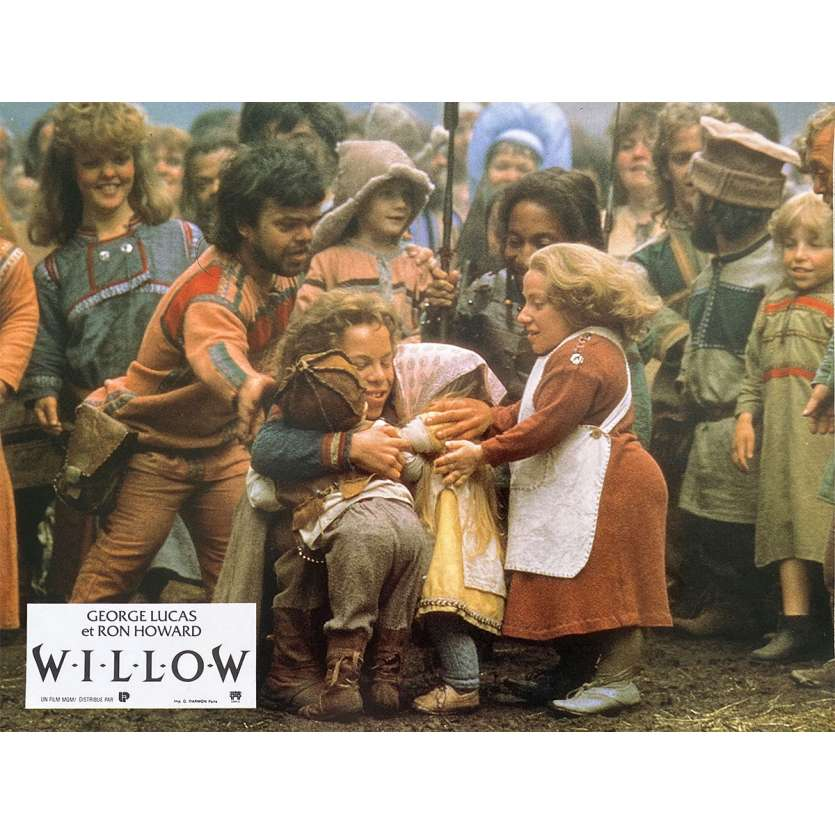 WILLOW Photo de film N3 - 21x30 cm. - 1988 - Val Kilmer, Ron Howard