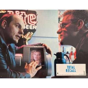 TOTAL RECALL Original Lobby Card N1 - 9x12 in. - 1990 - Paul Verhoeven, Arnold Schwarzenegger