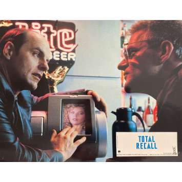 TOTAL RECALL Photo de film N1 - 21x30 cm. - 1990 - Arnold Schwarzenegger, Paul Verhoeven