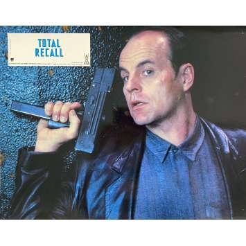 TOTAL RECALL Original Lobby Card N3 - 9x12 in. - 1990 - Paul Verhoeven, Arnold Schwarzenegger