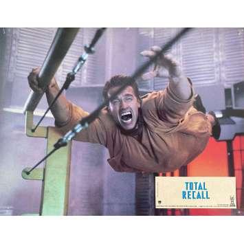 TOTAL RECALL Original Lobby Card N4 - 9x12 in. - 1990 - Paul Verhoeven, Arnold Schwarzenegger