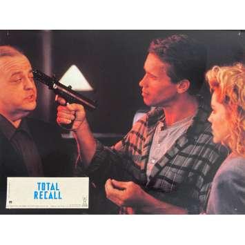 TOTAL RECALL Original Lobby Card N6 - 9x12 in. - 1990 - Paul Verhoeven, Arnold Schwarzenegger
