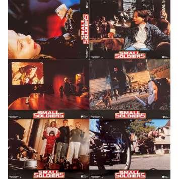 SMALL SOLDIERS Original Lobby Cards x6 - 9x12 in. - 1998 - Joe Dante, Kirsten Dunst