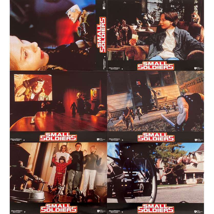 SMALL SOLDIERS Photos de film x6 - 21x30 cm. - 1998 - Kirsten Dunst, Joe Dante