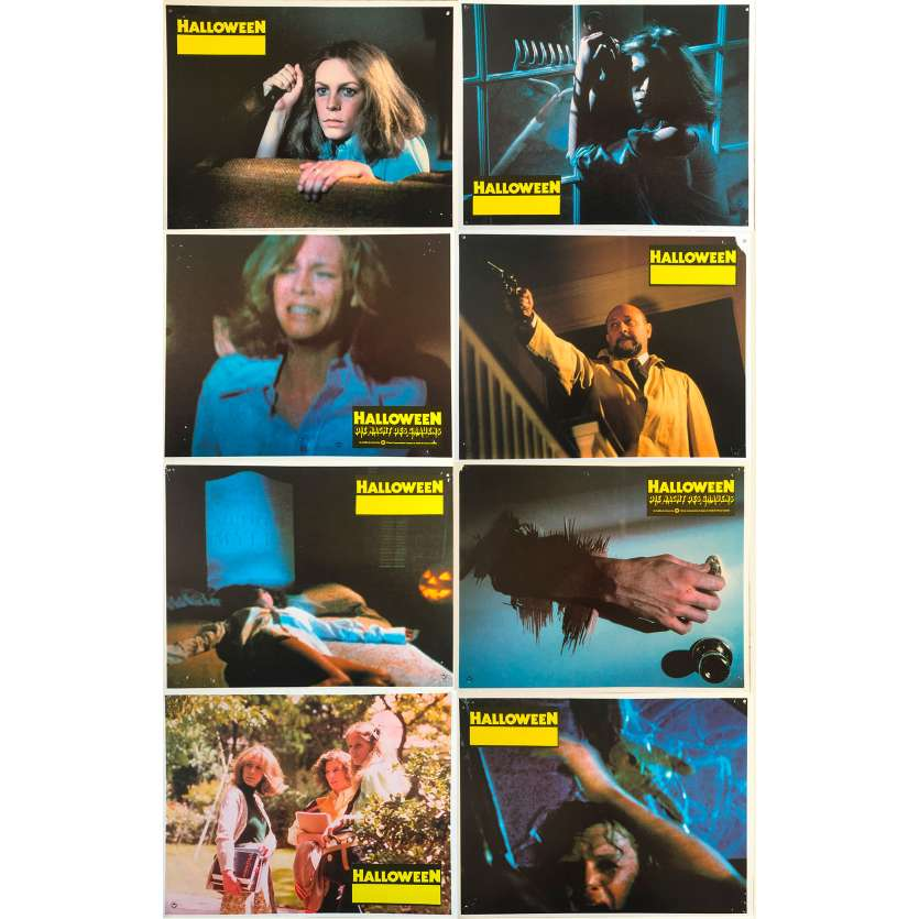 HALLOWEEN Original Lobby Cards 0 - 9x11,5 in. - 1978 - John Carpenter, Jamie Lee Curtis