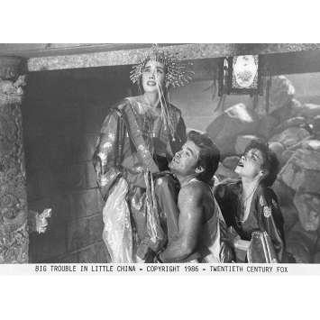 BIG TROUBLE IN LITTLE CHINA Original Movie Still N3 - 8x10 in. - 1986 - John Carpenter, Kurt Russel