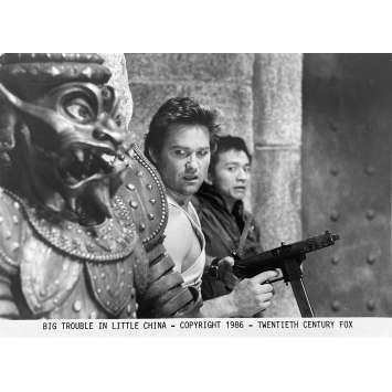 BIG TROUBLE IN LITTLE CHINA Original Movie Still N5 - 8x10 in. - 1986 - John Carpenter, Kurt Russel