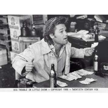 BIG TROUBLE IN LITTLE CHINA Original Movie Still N6 - 8x10 in. - 1986 - John Carpenter, Kurt Russel