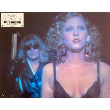 PULSIONS Photo de film N1 - 21x30 cm. - 1980 - Michael Caine, Brian de Palma