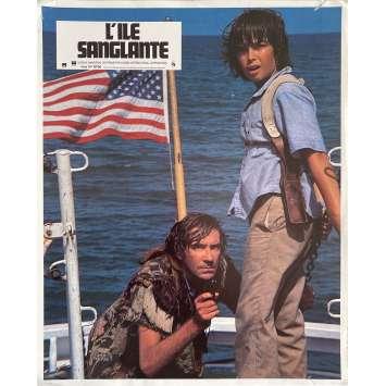 L'ILE SANGLANTE Photo de film N1 - 21x30 cm. - 1980 - Michael Caine, Michael Ritchie