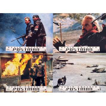 POSTMAN Photos de film x4 - 21x30 cm. - 1997 - Will Patton, Kevin Costner