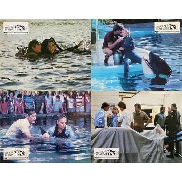 LES DENTS DE LA MER 3 Photos de film x4 - 21x30 cm. - 1983 - Dennis Quaid, Joe Alves