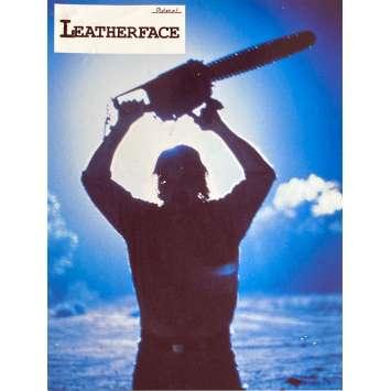 LEATHERFACE Photos de film N1 - 21x30 cm. - 1990 - Kate Hodge, Jeff Burr
