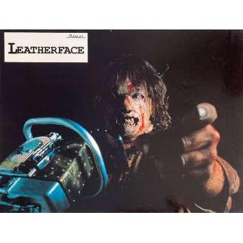 LEATHERFACE Original Lobby Cards N3 - 9x12 in. - 1990 - Jeff Burr, Kate Hodge