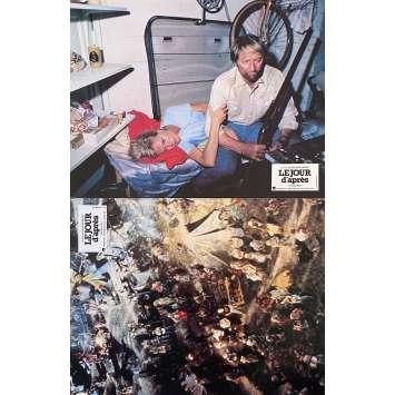 LE JOUR D'APRES Photos de film x2 - 21x30 cm. - 1983 - Jason Robards, Nicolas Meyer