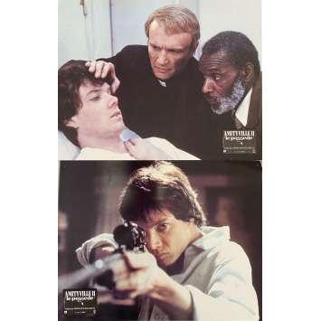 AMITYVILLE 2 Photos de film x2 - 21x30 cm. - 1982 - James Olson, Damiano Damiani