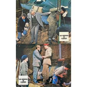 QUATERMASS AND THE PITT Original Lobby Cards x2 - 9x12 in. - 1967 - Roy Ward Baker, James Donald