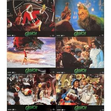 LE GRINCH Photos de film x6 - 21x30 cm. - 2000 - Jim Carrey, Ron Howard