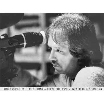 LES AVENTURES DE JACK BURTON Photo de presse N9 - 20x25 cm. - 1986 - Kurt Russel, John Carpenter