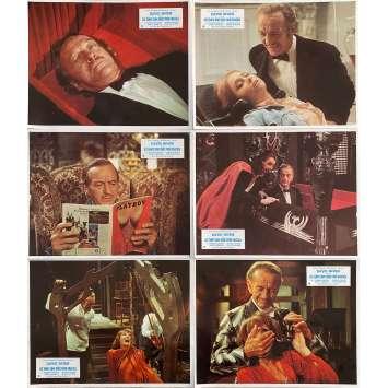 LES TEMPS SONT DURS POUR DRACULA Photos de film x7 - 21x30 cm. - 1974 - David Niven, Clive Donner