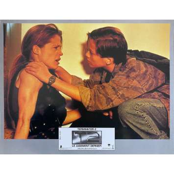 TERMINATOR 2 Photo de film N2 - 21x30 cm. - 1992 - Arnold Schwarzenegger, James Cameron