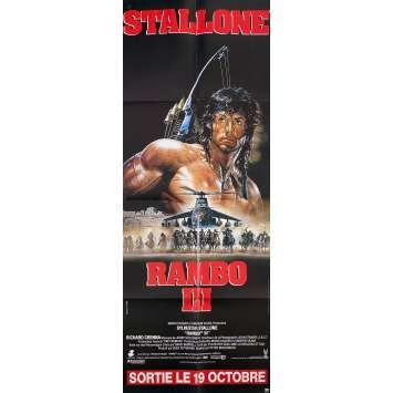 RAMBO 3 Movie Poster 23x63 in. - 1988 - Sylvester Stallone, Richard Crenna