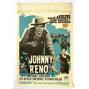 TOUTE LA VILLE EST COUPABLE Affiche de film - 35x55 cm. - 1966 - Dana Andrews, Jane Russell , R.G. Springsteen