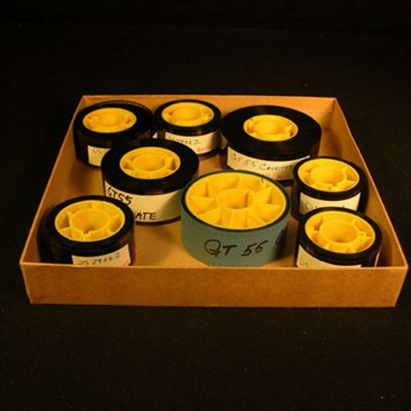 GHOSTBUSTERS 8 small film reels with special effects footage