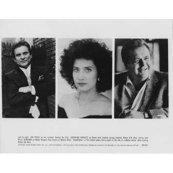 LES AFFRANCHIS Photo de presse GF-647 - 20x25 cm. - 1990 - Robert de Niro, Martin Scorsese