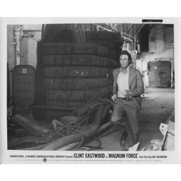 MAGNUM FORCE Original Movie Still N157 - 8x10 in. - 1973 - Ted Post, Clint Eastwood