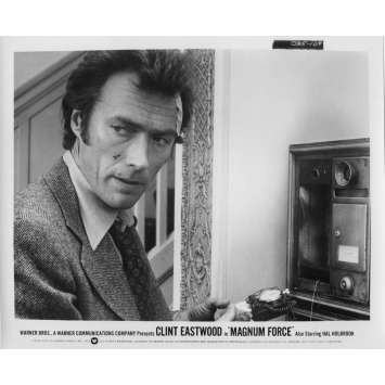 MAGNUM FORCE Original Movie Still N109 - 8x10 in. - 1973 - Ted Post, Clint Eastwood