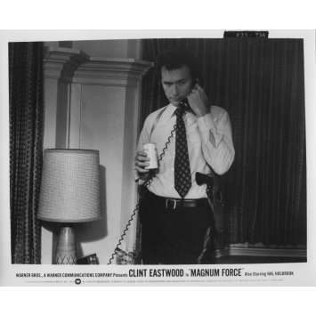 MAGNUM FORCE Original Movie Still N93A - 8x10 in. - 1973 - Ted Post, Clint Eastwood