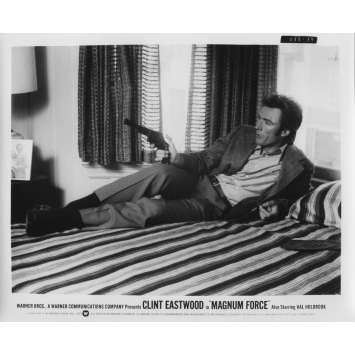 MAGNUM FORCE Original Movie Still N35 - 8x10 in. - 1973 - Ted Post, Clint Eastwood