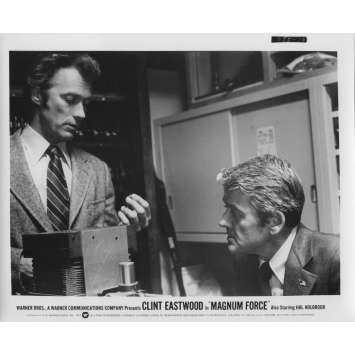 MAGNUM FORCE Original Movie Still N10 - 8x10 in. - 1973 - Ted Post, Clint Eastwood
