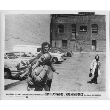 MAGNUM FORCE Original Movie Still N5 - 8x10 in. - 1973 - Ted Post, Clint Eastwood