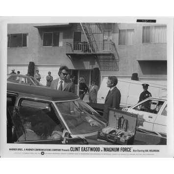 MAGNUM FORCE Photo de presse N1 - 20x25 cm. - 1973 - Clint Eastwood, Ted Post