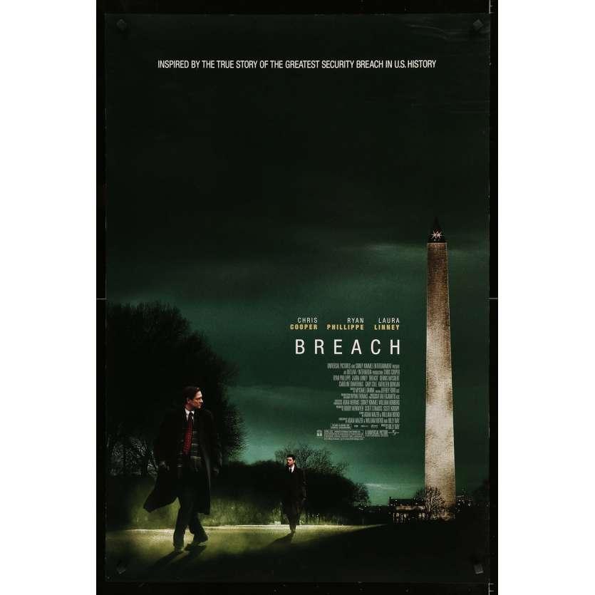 AGENT DOUBLE Affiche de film - 69x102 cm. - 2007 - Chris Cooper, Billy Ray